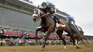 BALTIMORE -- Right from the start, a horse trained by one not so over-the-hill Hall of Famer and ridden by another took control of the Preakness. The result: a huge upset and the end of any hopes for a Triple Crown attempt at the Belmont Stakes.
