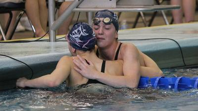 Kilgores shine at 5-1A girls' state swim, Blue Valley Southwest wins first championship