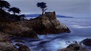 PEBBLE BEACH, Calif. — You've seen the Lone Cypress. It stands along famously scenic 17-Mile Drive, raked by wind, swaddled in fog, clinging to its wave-lashed granite pedestal like God's own advertisement for rugged individualism.