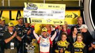 Johnson wins $1 million in record fourth NASCAR All-Star Race triumph