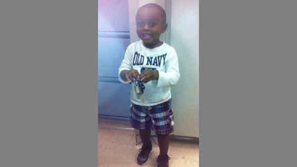A toddler who was found walking the street alone near Douglas Park on the city's West Side.