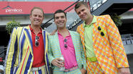 Wacky fashion at Preakness 2013