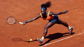 Nadal and Williams win easily in Rome