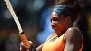 Serena Williams extended the best run of her career on Sunday by winning the Italian Open title in a rout of third-seeded Victoria Azarenka on the clay in Rome.