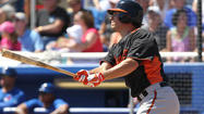 Hot-hitting Danny Valencia hopes to continue offensive streak with Orioles