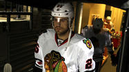"Viktor Stalberg's absence from the Chicago Blackhawks lineup ""likely"" ends after two games."