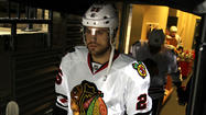 Benched Stalberg 'likely playing' in Hawks' Game 3