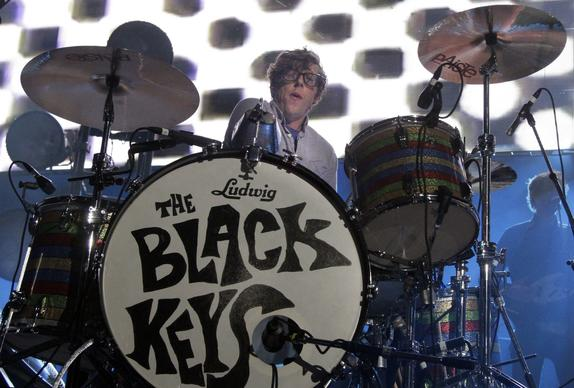 Patrick Carney of the Black Keys at KROQ's annual Weenie Roast.