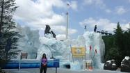SeaWorld Orlando: Antarctica construction walls down