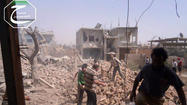"BEIRUT — Syrian government forces launched a <a href=""http://www.latimes.com/news/world/worldnow/la-fg-wn-united-nations-atrocities-qusair-syria-20130510,0,6028835.story"">long-planned offensive</a> early Sunday on the strategic city of Qusair and neighboring rebel-controlled villages near the Lebanese border, with heavy shelling that began shortly after midnight, according to opposition and pro-regime accounts."