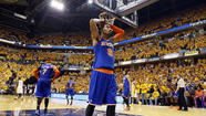 New York Knicks guard J.R. Smith can be a free agent this summer, but said he does not want to leave the team.