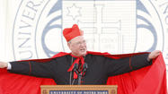 SOUTH BEND — Cardinal Timothy Dolan, archbishop of New York, said he found the secret to the University of Notre Dame during a nighttime visit to the campus Grotto.
