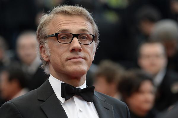"Austrian actor and member of the Feature film jury Christoph Waltz arrives for the screening of ""Inside Llewyn Davis."""
