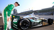Ed Carpenter knew he was capable of another fast run, and it earned him the pole for the Indianapolis 500.