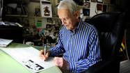 Pulitzer Prize-winning editorial cartoonist Dick Locher, 83, has put the stopper in the ink bottle for the last time after more than 40 years of capturing modern life through political cartooning. He recently announced his retirement.
