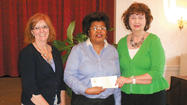 The inaugural award of the Women's Club of Hagerstown Foundation Scholarship was made during the club's annual meeting May 9 at the club on South Prospect Street.