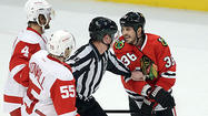Two games into his postseason return, Dave Bolland has bear-hugged and been body-slammed. He has roughed and slashed, then roughed and slashed and roughed again, and that's just what on-ice officials have deemed officially unacceptable.