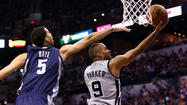 Spurs win Game 1 over Grizzlies 105-83
