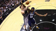 (Reuters) - The San Antonio Spurs blew away Memphis 105-83 on Sunday to open the Western Conference finals with a convincing victory.