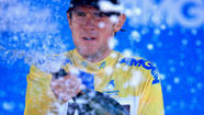 SANTA ROSA — Tejay van Garderen rode his bicycle into a hotel meeting room Sunday as if he were corralling a bucking bronco. He reared the cycle up on its back wheel and slammed it down during a well-earned and well-deserved celebration.