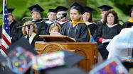 Wilson College's Class of 2013 is poised to make a great impact on the natural world because the next 10 years will be key in protecting the planet, the class' graduation speaker said Sunday.
