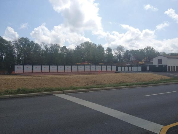 "A cluster of ""sea containers"" recently were placed at a storage business near the corner of Virginia Avenue and Massey Boulevard."