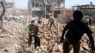 Syria launches major assault on strategic rebel stronghold