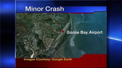 No Injuries After Small Plane Crash Lands at Goose Bay Airport