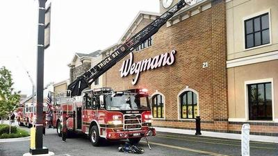 Grease catches fire in restaurant area at Wegmans