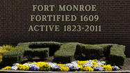 HAMPTON — You better think twice about entering Fort Monroe after the sun has gone down.