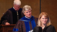Martha Raddatz told one on herself Sunday during her commencement address to Centre College's Class of 2013.