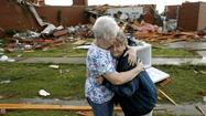 A series of tornadoes raked a broad swath of the Midwest on Sunday, destroying homes and a trailer park in Oklahoma, killing one person and injuring at least 21 others, officials said.
