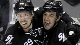 Logan Couture is stepping up in a big way for Sharks