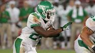 North Texas running back Brandin Byrd is among the Mean Green's top returning playmakers in 2013