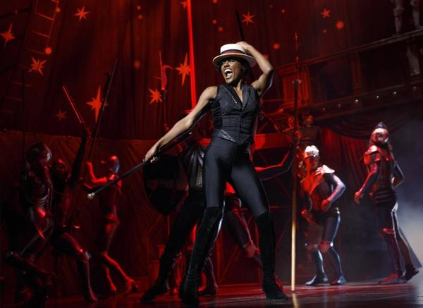 "A scene from the Broadway revival of the musical ""Pippin"" at the Music Box Theatre in New York."