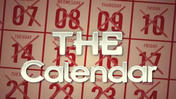 The Calendar: May 20, 2013, part 1