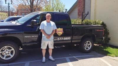 Cary Norton is a regional supervisor with All Pro Restoration.