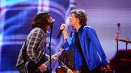 Stones Share Stage With Grohl