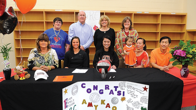 Prep Volleyball: Kao signs with Georgetown College