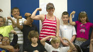 Photo Gallery: Fitness program at Stanford Elementary School