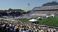 The Naval Academy will host its first-ever bowl game this year, as organizers announced Monday the move of the 2013 Military Bowl from RFK Stadium in Washington, D.C. to Navy-Marine Corps Memorial Stadium in Annapolis in December.