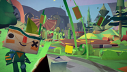 "An early look at the Vita's ""Tearaway."" (Media Molecule / Sony Computer Entertainment)"