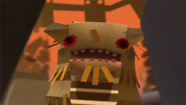 "One of the creatgure obstacles in ""Tearaway."" (Media Molecule / Sony Computer Entertainment)"