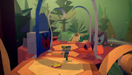 "There's vibrant plant life in ""Tearaway."" (Media Molecule / Sony Computer Entertainment)"