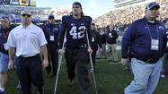 The Sports Illustrated article had just slammed Penn State when linebacker Mike Mauti received the message from halfway across the country.