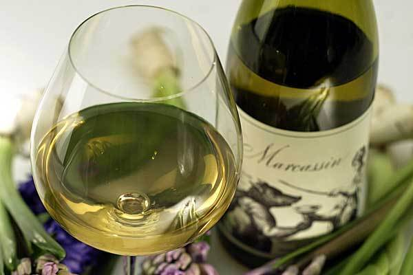 "Marcassin Vineyards, whose Chardonnay has been described as one of the best in the world, won't release 2008 Pinot Noirs because smoke from a wildfire ""marred"" the character of the wine."