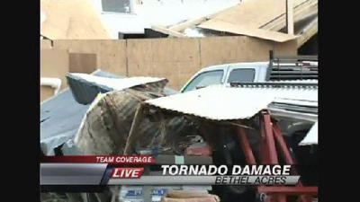 Death toll rises to 2 in Oklahoma tornadoes; more storms expected