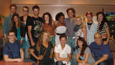 Perez Hilton attends 'Flashdance' at Segerstrom