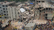 Collapsed Bangladesh garment factory kills more than 1,100