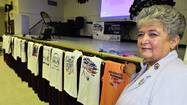 Nancy Becraft has a T-shirt from each year Laurel has held a Relay for Life, and has witnessed the growth of the event since the first relay in 1999.